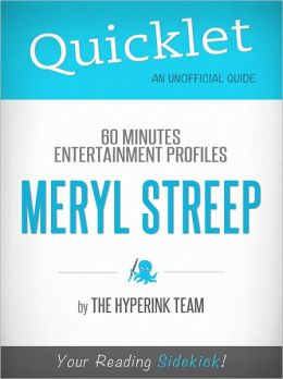 Quicklet on 60 Minutes Entertainment Profiles: Meryl Streep