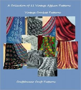 A Collection of 11 Vintage Crochet Afghan Patterns
