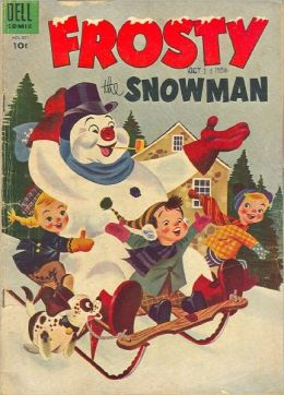 Frosty the Snowman Number 601 Childrens Comic Book