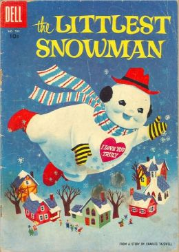 The Littlest Snowman Childrens Comic Book