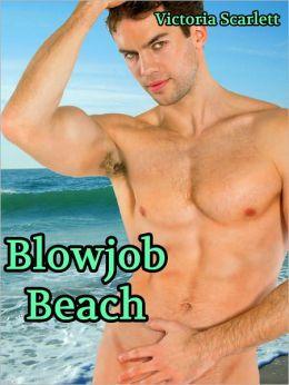 Blowjob Beach (Three Way Threesome Menage Gay Erotica)