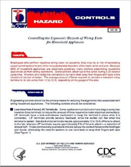 Controlling the Ergonomic Hazards of Wiring Tasks for Household Appliances