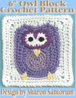 Owl Block Crochet Pattern