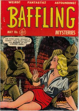 Baffling Mysteries Number 8 Horror Comic Book