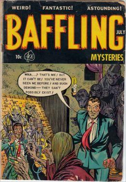 Baffling Mysteries Number 16 Horror Comic Book