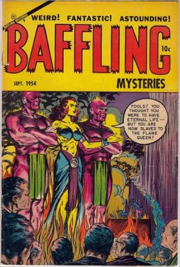 Baffling Mysteries Number 22 Horror Comic Book