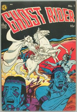 The Ghost Rider Number 1 Western Comic Book