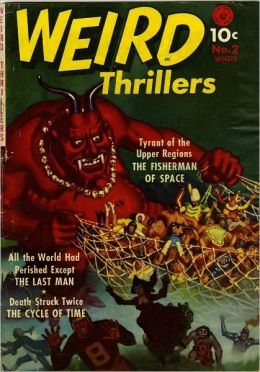 Weird Thrillers Number 2 Horror Comic Book
