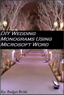 DIY Wedding Monograms