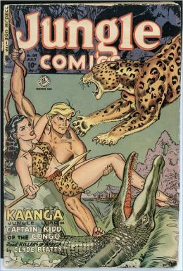 Jungle Comics Number 139 Action Comic Book