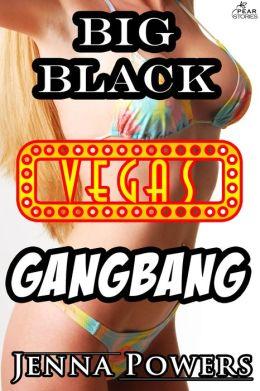 Big Black Vegas Gangbang (Interracial Gangbang Sex)