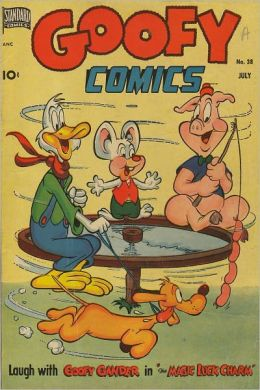 Goofy Comics Number 38 Childrens Comic Book