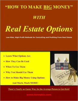 How To Make Big Money With Real Estate Options