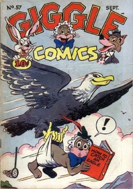 Giggle Comics Number 57 Childrens Comic Book