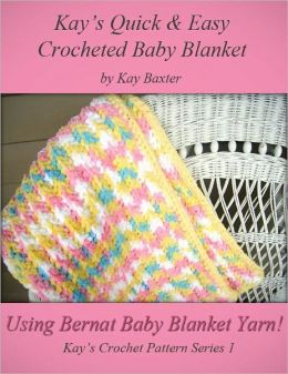 Quick & Easy Crochet Baby Blanket Pattern