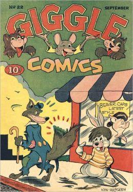 Giggle Comics Number 22 Childrens Comic Book