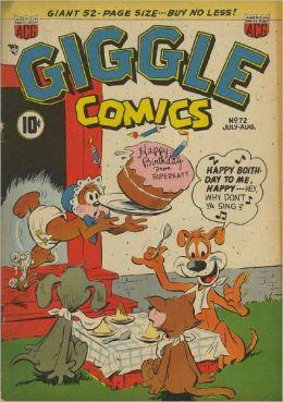 Giggle Comics Number 72 Childrens Comic Book