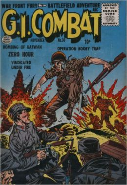 GI Combat Number 30 War Comic Book