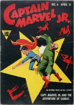 Captain Marvel Jr Number 6 Super-Hero Comic Book