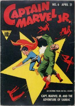 Captain Marvel Jr Number 6 Super-Hero Comic Book