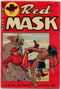 Red Mask Number 42 Western Comic Book