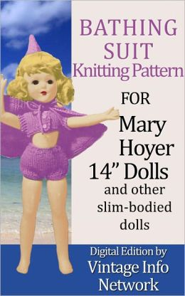 Bathing Suit Set Knitting Pattern for Mary Hoyer 14
