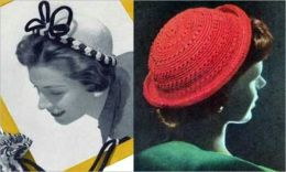 Crocheted Patterns for Hats