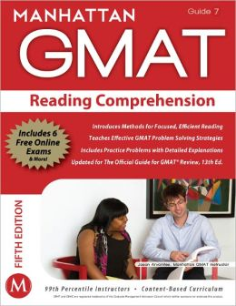 Reading Comprehension GMAT Strategy Guide, 5th Edition