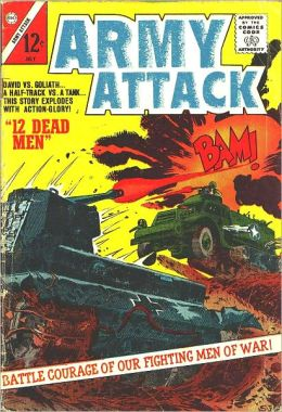 Army Attack Number 1 War Comic Book