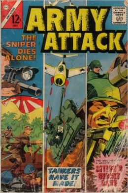 Army Attack Number 38 War Comic Book