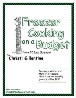 Freezer Cooking on a Budget from 30 Day Gourmet