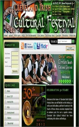 Cleveland Irish Cultural Festival: Performers 2012
