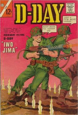 D-Day Number 2 War Comic Book