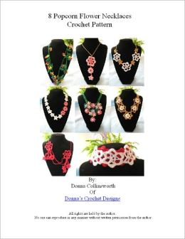 3 Motifs Make 8 Different Necklaces Crochet Pattern