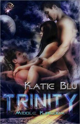 Trinity (Erotic Science Fiction, Menage Romance)