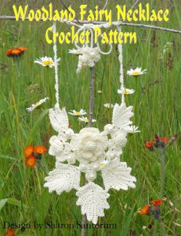 Woodland Fairy Necklace Crochet Pattern