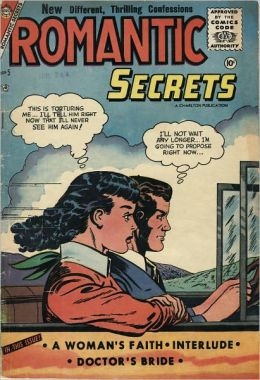 Romantic Secrets Number 5 Love Comic Book