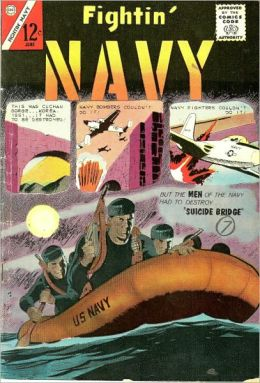Fightin Navy Number 110 War Comic Book