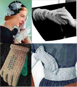 Vintage Crochet Glove Patterns for Women - Let's Crochet Glove Patterns for Women