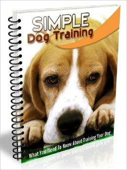 Simple Dog Training - What You Need to Know About Training Your Dog