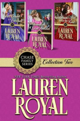 Chase Family Boxed Set Two - The Flowers: Violet, Lily, and Rose (Chase Family Series)