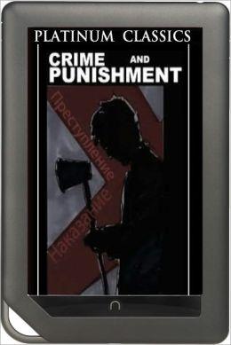 NOOK EDITION - Crime and Punishment (Platinum Classics Series)