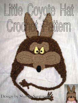 Little Coyote Hat Crochet Pattern