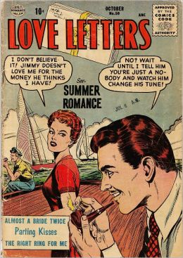 Love Letters Number 50 Love Comic Book