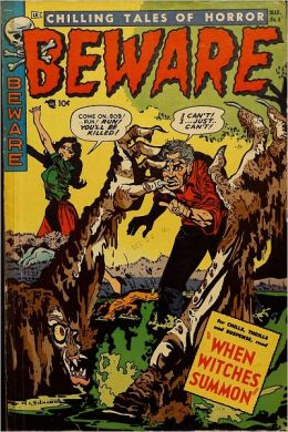 Chilling Tales Of Horror Beware Number 8 Horror Comic Book