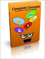 Complete Concepts: Easy Solutions To Boost Your Creativity