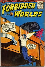 Forbidden Worlds Number 91 Horror Comic Book
