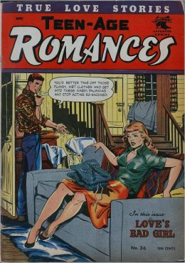 Teen Age Romances Number 36 Love Comic Book