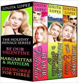 Holiday Menage Boxed Set, Volume 1 (Books 1-3)