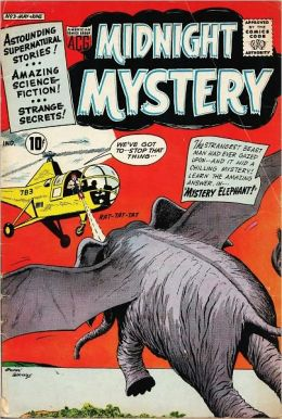 Midnight Mystery Number 3 Horror Comic Book